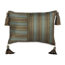 <strong>Eastern Accents</strong> Chapman Polyester Marmara Sea Decorative Pillow with Tassels