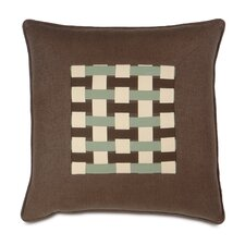 <strong>Eastern Accents</strong> Cambium Polyester Leon Decorative Pillow with Ribbons