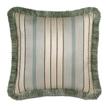 <strong>Eastern Accents</strong> Carlyle Polyester Luxembourgh Spa Decorative Pillow with Brush Fringe