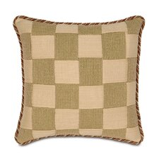 Kiawah Palmetto Folly Basketweave Decorative Pillow