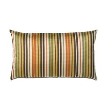 Melange Polyester Knife Edge Decorative Pillow