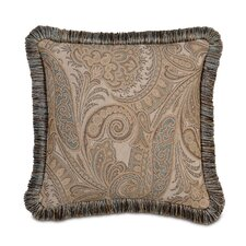 Powell Polyester Decorative Pillow with Brush Fringe