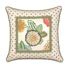 <strong>Eastern Accents</strong> Portia Mitered Polyester Decorative Pillow