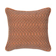 Tracery Polyester Luca Decorative Pillow with Border