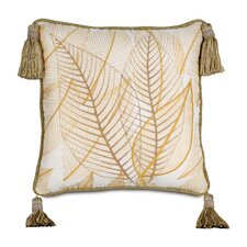 Antigua Polyester Hand-Painted Collier Sunshine Decorative Pillow with Tas