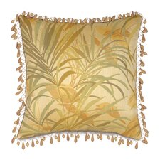 <strong>Eastern Accents</strong> Antigua Polyester Decorative Pillow with Beaded Trim