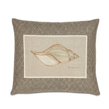 Avila Polyester Hand-Painted Shell Decorative Pillow