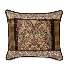 Broderick Polyester Collage Decorative Pillow with Cord