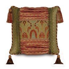 <strong>Eastern Accents</strong> Botham Polyester Collage Decorative Pillow with Tassels