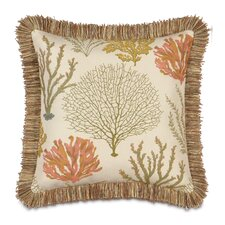 <strong>Eastern Accents</strong> Caicos Polyester Decorative Pillow with Brush Fringe