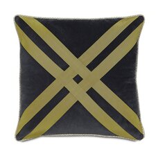 Caldwell Polyester Jackson Decorative Pillow with Criss-Cross