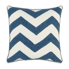 Ceylon Polyester Garrison Storm Chevron Decorative Pillow