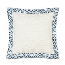 Ceylon Polyester Yearling Decorative Pillow with Mitered Flange