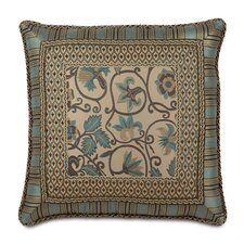 Chapman Polyester Danville Sea Border Collage Decorative Pillow