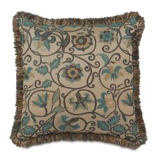 Chapman Polyester Decorative Pillow with Loop Fringe