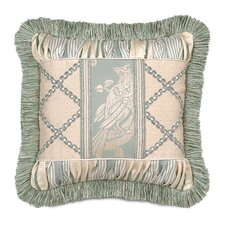 <strong>Eastern Accents</strong> Carlyle Polyester Collage Decorative Pillow with Brush Fringe