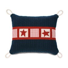 <strong>Eastern Accents</strong> Carter Polyester Hand-Painted Carter Decorative Pillow