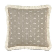 <strong>Eastern Accents</strong> Daphne Polyester Decorative Pillow with Brush Fringe