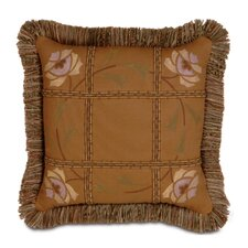 Fairmount Hand Painted Brush Fringe Decorative Pillow