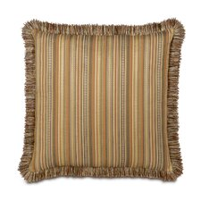 <strong>Eastern Accents</strong> Kiawah Currituck Shell Brush Fringe Decorative Pillow