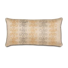 Lancaster Bristol Motif Hand Painted Decorative Pillow