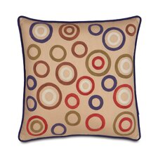 <strong>Eastern Accents</strong> Pinkerton Polyester Eli Circles Decorative Pillow