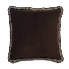 Powell Polyester Jackson Decorative Pillow with Brush Fringe