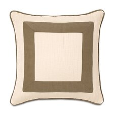 Tracery Polyester Keats Mitered Decorative Pillow
