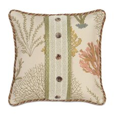<strong>Eastern Accents</strong> Caicos Polyester Decorative Pillow with Buttons