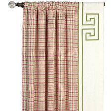 <strong>Eastern Accents</strong> Portia Blight Rose Curtain Single Panel