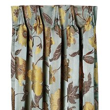 <strong>Eastern Accents</strong> Bellezza Cotton Pleated Curtain Single Panel
