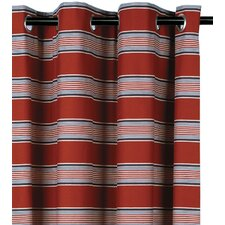 Carter Cotton Grommet Curtain Single Panel