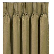 <strong>Eastern Accents</strong> Botham Lucerne Cotton Pleated Curtain Single Panel