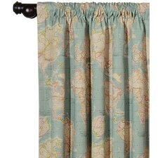 Kai Monde Cotton Rod Pocket Curtain Single Panel