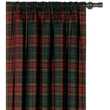Reynolds Brandy Cotton Rod Pocket Curtain Single Panel