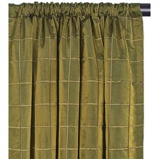 <strong>Eastern Accents</strong> Vaughan Cotton Rod Pocket Veneta  Curtain Single Panel