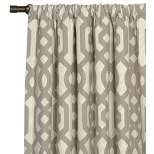Rayland Cotton Rod Pocket Curtain Single Panel