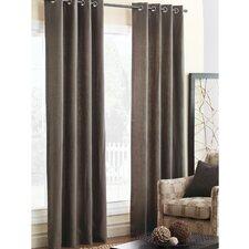 Breeze Pure Linen Cotton Grommet Curtain Panel