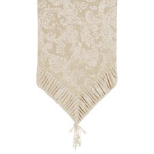 Charissa Shimmer End Table Runner