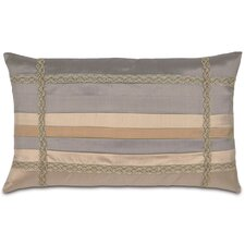 <strong>Eastern Accents</strong> Lancaster Polyester Memoir Pleats Decorative Pillow