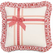 <strong>Eastern Accents</strong> Matilda Polyester Adler Decorative Pillow with Ribbons