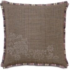 Mica Farrow Polyester Block Printed Decorative Pillow