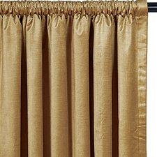 <strong>Eastern Accents</strong> Lucerne Cotton Rod Pocket  Curtain Single Panel