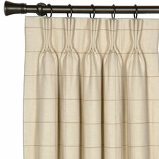 <strong>Eastern Accents</strong> Gallagher Franklin Cotton Pleated Curtain Single Panel