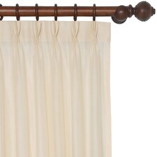 Garnier Danville Cotton Pleat Curtain Single Panel