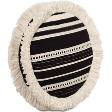 Evelyn Polyester Fullerton Ink Tambourine Decorative Pillow