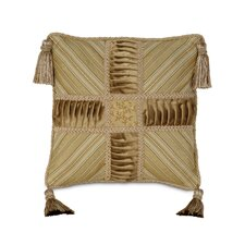 <strong>Eastern Accents</strong> Gabrielle Edora Collage Tassels Decorative Pillow