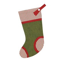 North Pole Piper Piping Stocking
