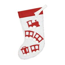 North Pole Choo Choo Stocking