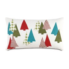 North Pole Thru The Woods Decorative Pillow